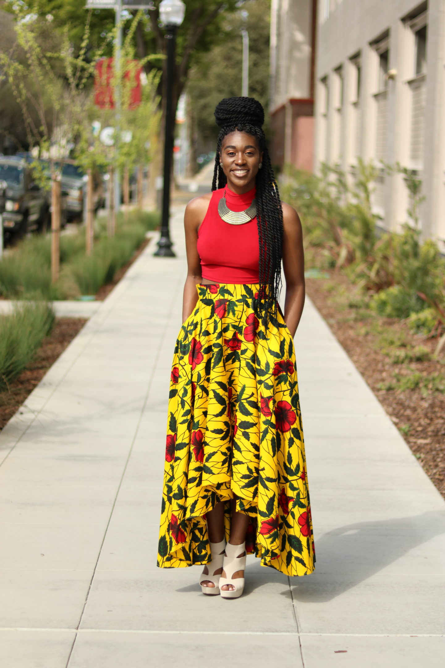 Diy High Low Maxi Circle Skirt Tutorial Montoya Mayo