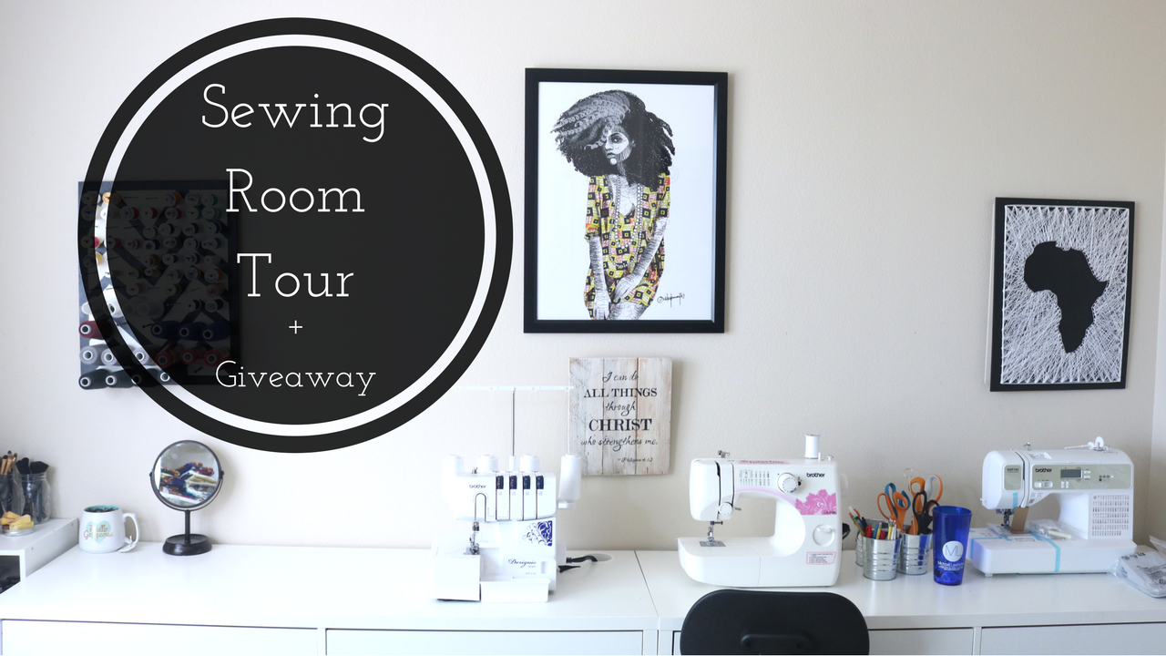 Sewing Room Tour, Sewing Room Inspiration