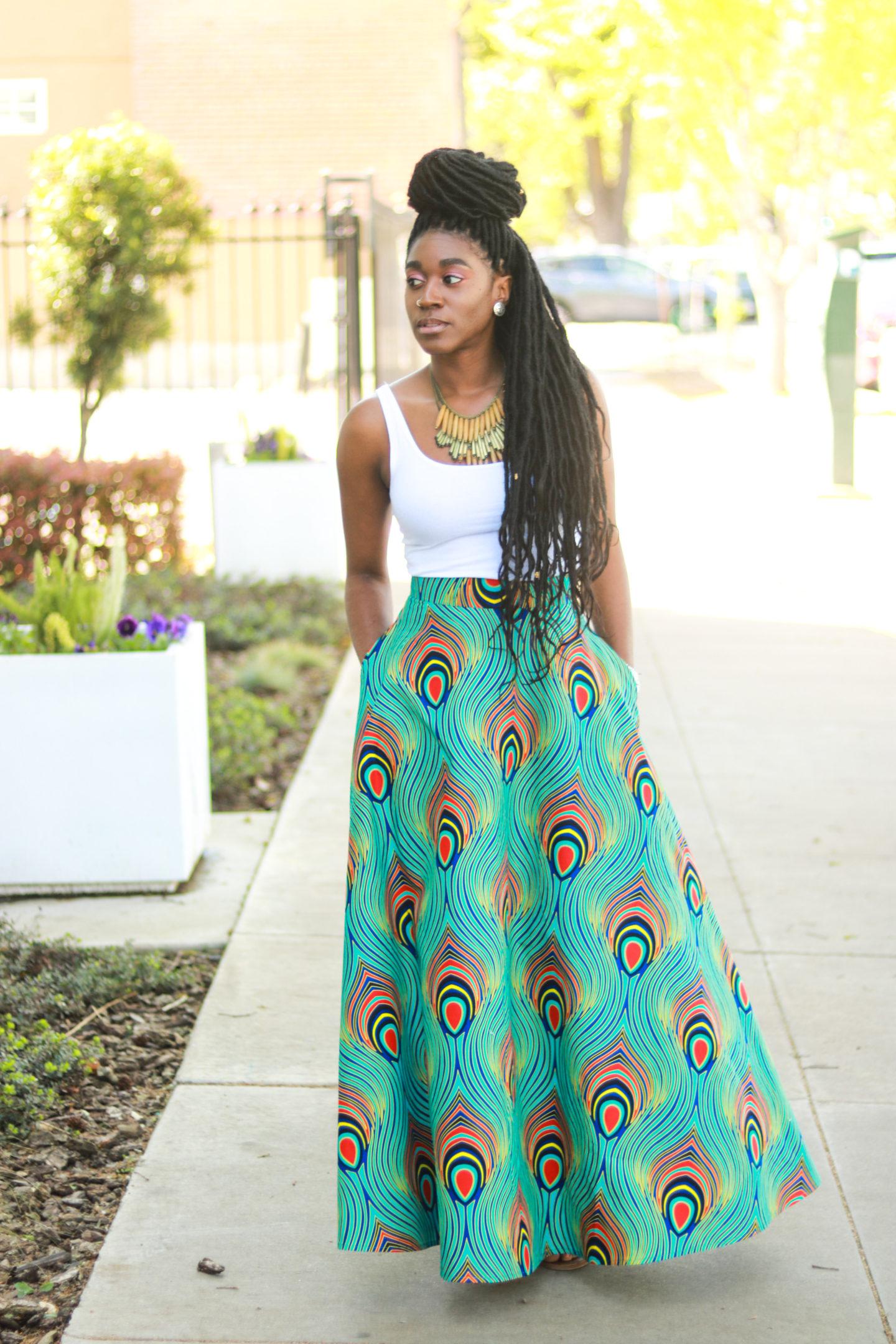 DIY Half Circle Skirt With Pockets Tutorial - Montoya Mayo