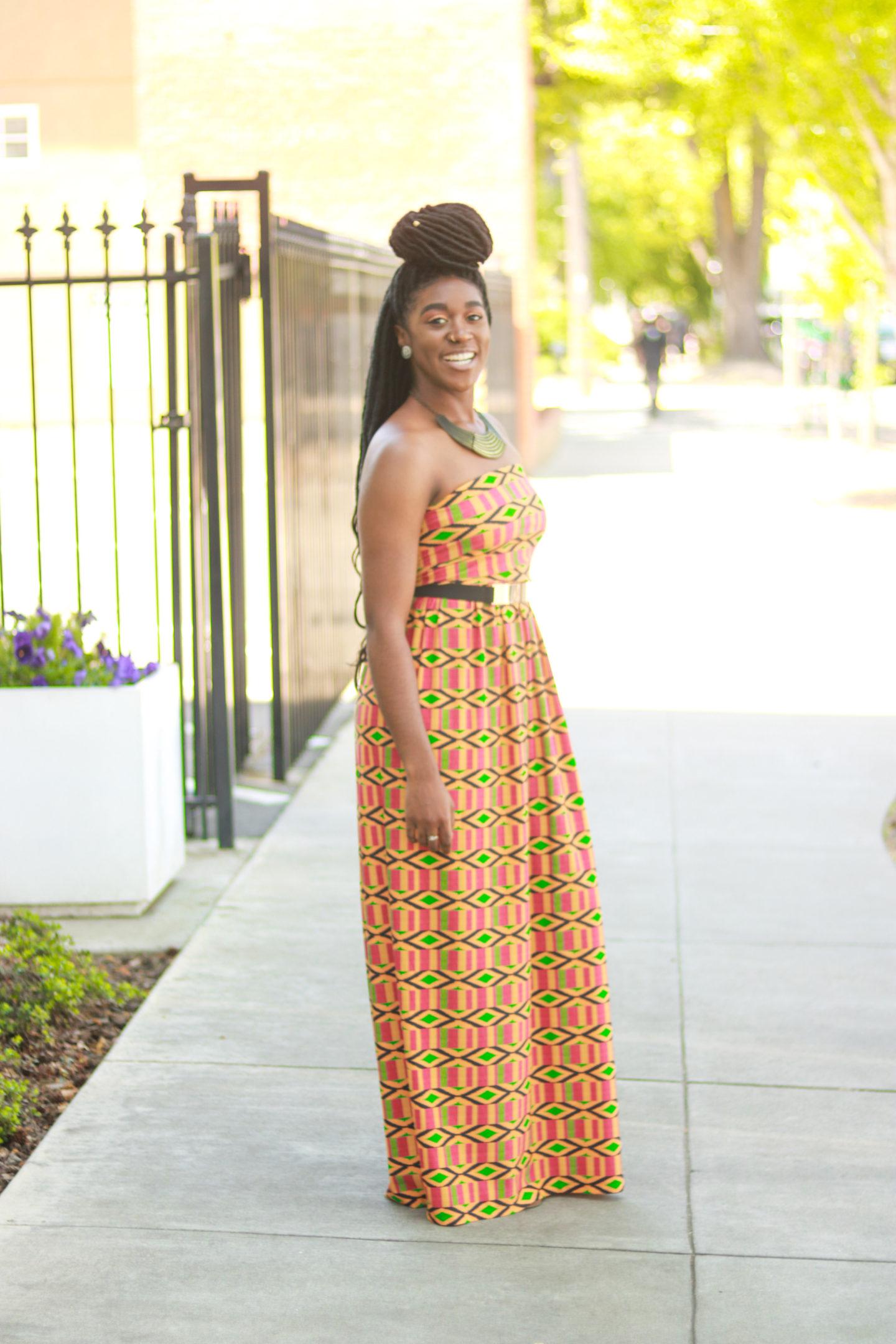 DIY Maxi Dress Tutorial   Sewing with Knit Fabric - Montoya Mayo