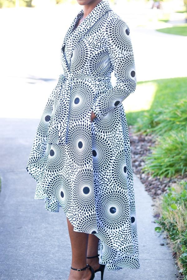 Tory Wrap Coat Pattern Montoya Mayo Custom African Sewing Patterns